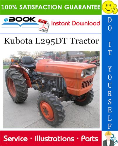 Thumbnail ☆☆ Best ☆☆ Kubota L295DT Tractor Parts Manual