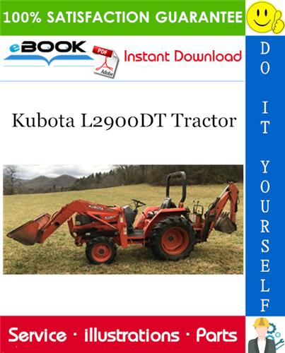 Thumbnail ☆☆ Best ☆☆ Kubota L2900DT Tractor Parts Manual