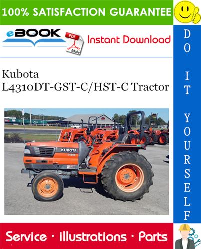 Thumbnail ☆☆ Best ☆☆ Kubota L4310DT-GST-C/HST-C Tractor Parts Manual