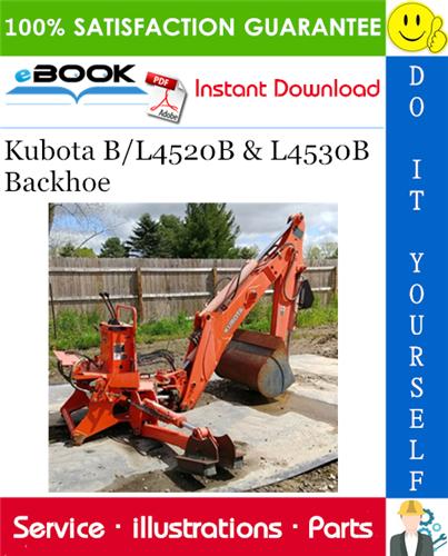 Thumbnail ☆☆ Best ☆☆ Kubota B/L4520B & L4530B Backhoe Parts Manual