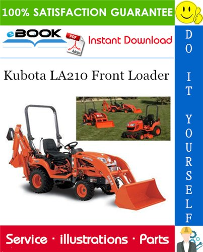 Thumbnail ☆☆ Best ☆☆ Kubota LA210 Front Loader Parts Manual