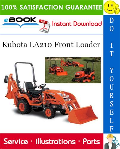 Thumbnail ☆☆ Best ☆☆ Kubota LA210 Front Loader Parts Manual