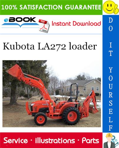 Thumbnail ☆☆ Best ☆☆ Kubota LA272 loader Parts Manual