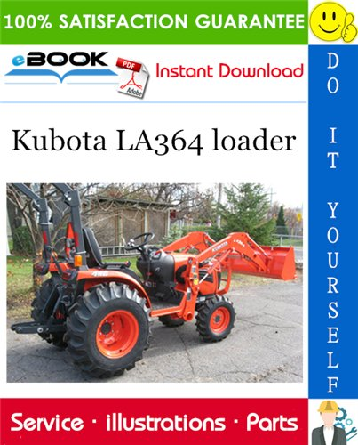 Thumbnail ☆☆ Best ☆☆ Kubota LA364 loader Parts Manual