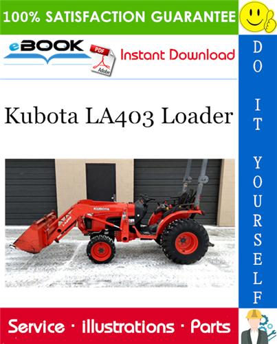 Thumbnail ☆☆ Best ☆☆ Kubota LA403 Loader Parts Manual