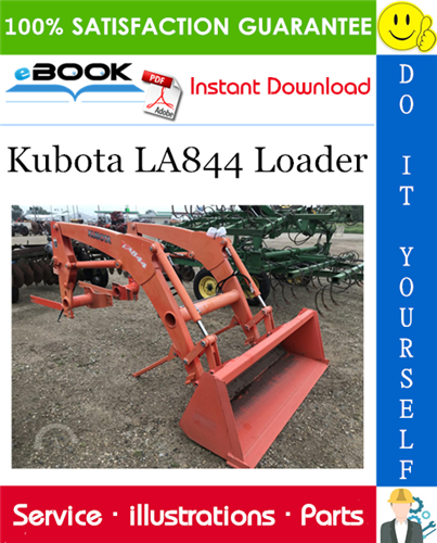 Thumbnail ☆☆ Best ☆☆ Kubota LA844 Loader Parts Manual