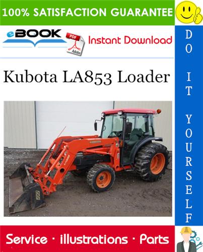 Thumbnail ☆☆ Best ☆☆ Kubota LA853 Loader Parts Manual
