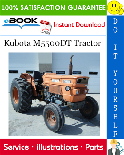 Thumbnail ☆☆ Best ☆☆ Kubota M5500DT Tractor Parts Manual