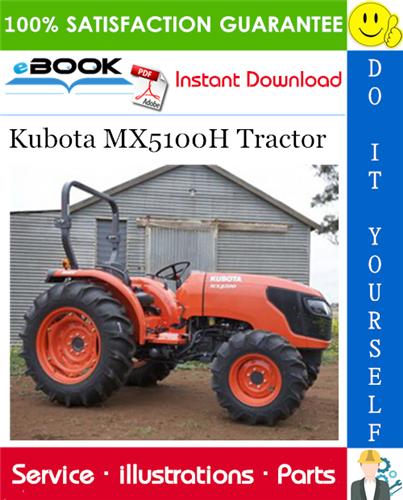Thumbnail ☆☆ Best ☆☆ Kubota MX5100H Tractor Parts Manual