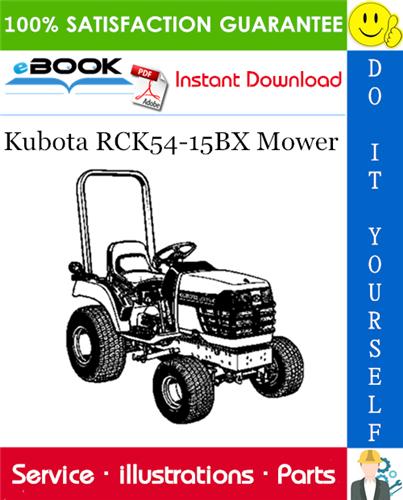Thumbnail ☆☆ Best ☆☆ Kubota RCK54-15BX Mower Parts Manual