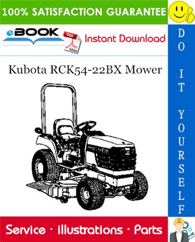 Thumbnail ☆☆ Best ☆☆ Kubota RCK54-22BX Mower Parts Manual