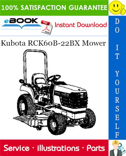 Thumbnail ☆☆ Best ☆☆ Kubota RCK60B-22BX Mower Parts Manual