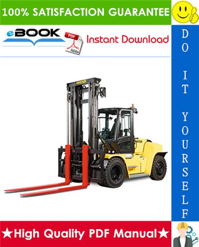 Thumbnail ☆☆ Best ☆☆ Hyster H170HD, H8.00XM (H190HD), H9.00XM (H210HD), H10.00XM (H230HD), H250HD, H12.00XM (H280HD) [F007] Heavy-Duty Forklifts Service Repair Manual