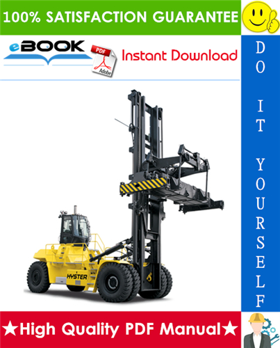 Thumbnail ☆☆ Best ☆☆ Hyster H1050HD-CH, H1150HD-CH (F117) Container Handlers Service Repair Manual