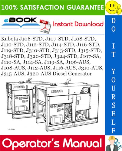 Thumbnail ☆☆ Best ☆☆ Kubota J106-STD, J107-STD, J108-STD, J110-STD, J112-STD, J114-STD, J116-STD, J119-STD, J310-STD, J313-STD, J315-STD, J318-STD, J320-STD, J324-STD, J107-SA, J110-