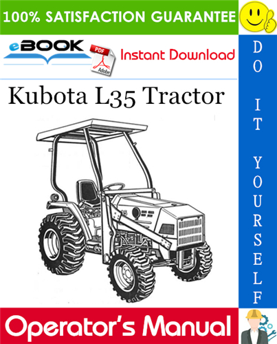 Thumbnail ☆☆ Best ☆☆ Kubota L35 Tractor Operators Manual