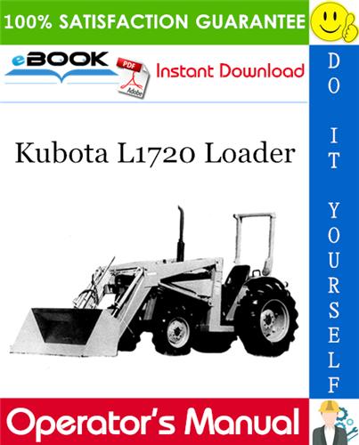 Thumbnail ☆☆ Best ☆☆ Kubota L1720 Loader Operators Manual