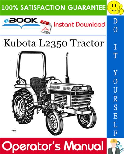 Thumbnail ☆☆ Best ☆☆ Kubota L2350 Tractor Operators Manual