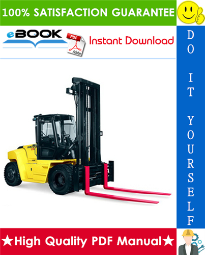 Thumbnail ☆☆ Best ☆☆ Hyster H300HD2, H330HD2, H360HD2, H360HD2-EC (H019) Forklift Trucks Service Repair Manual