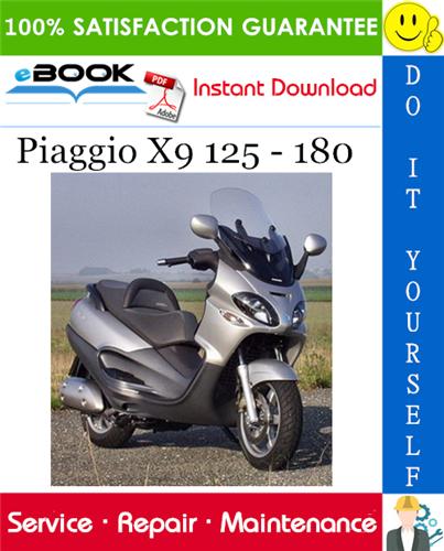 Thumbnail ☆☆ Best ☆☆ Piaggio X9 125 - 180 Service Repair Manual