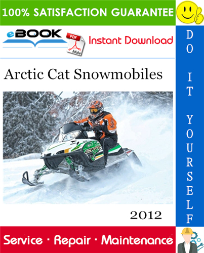 Thumbnail ☆☆ Best ☆☆ 2012 Arctic Cat Snowmobiles Service Repair Manual