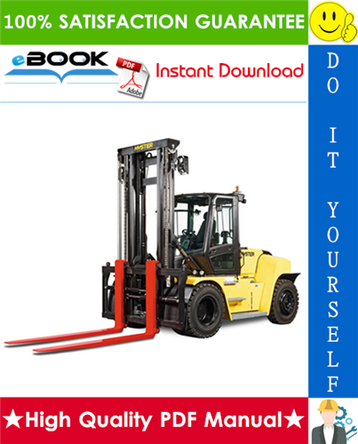 Thumbnail ☆☆ Best ☆☆ Hyster H300HD2, H330HD2, H360HD2, H360HD2-EC (J019) Forklift Trucks Service Repair Manual