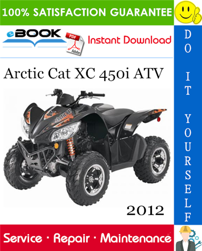 Thumbnail ☆☆ Best ☆☆ 2012 Arctic Cat XC 450i ATV Service Repair Manual