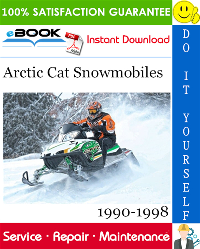 Thumbnail ☆☆ Best ☆☆ Arctic Cat Snowmobiles Service Repair Manual 1990-1998 Download