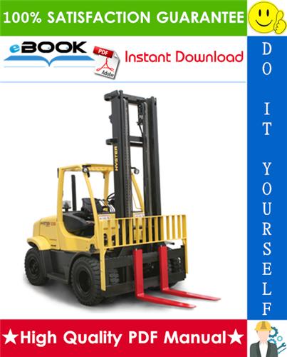 Thumbnail ☆☆ Best ☆☆ Hyster H135FT, H155FT (K006) Pneumatic Tire Forklift Trucks Service Repair Manual