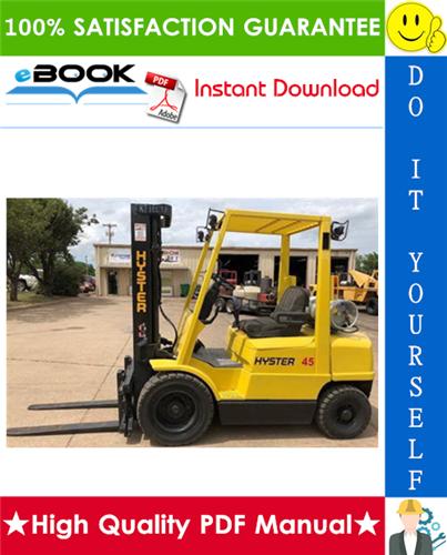 Thumbnail ☆☆ Best ☆☆ Hyster H45XM, H50XM, H55XM, H60XM, H65XM (K177) Forklift Trucks Service Repair Manual