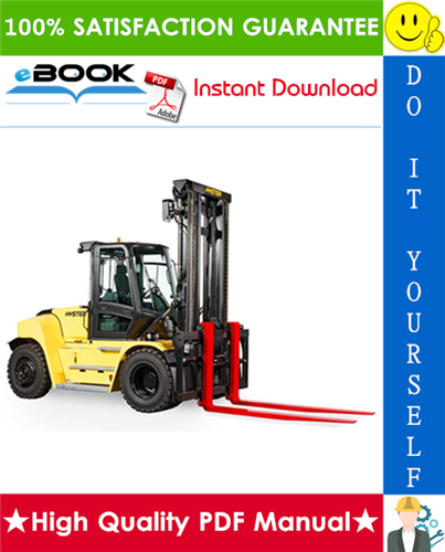 Thumbnail ☆☆ Best ☆☆ Hyster H190HD2, H210HD2, H230HD2, H230HDS2, H250HD2, H280HD2 (L007) Heavy-Duty Forklift Trucks Service Repair Manual