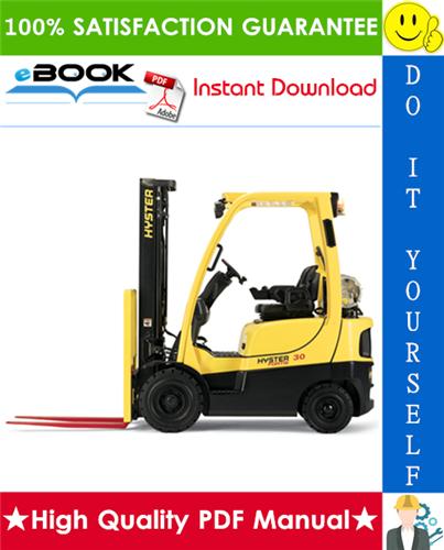Thumbnail ☆☆ Best ☆☆ Hyster Fortis H40FT, H50FT, H60FT, H70FT (L177) 4-Wheel Pneumatic Tire Lift Trucks Service Repair Manual