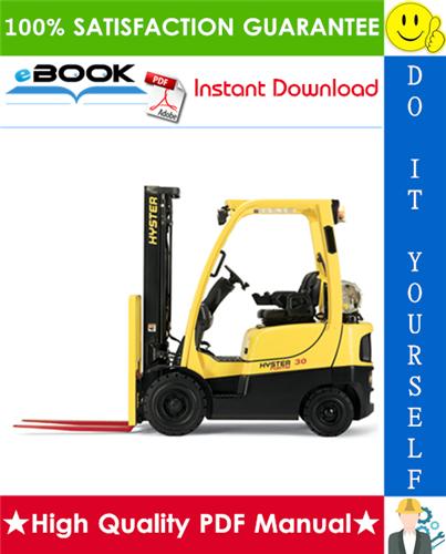 Thumbnail ☆☆ Best ☆☆ Hyster H40FT, H50FT, H60FT, H70FT (N177) 4-Wheel Pneumatic Tire Lift Trucks Service Repair Manual