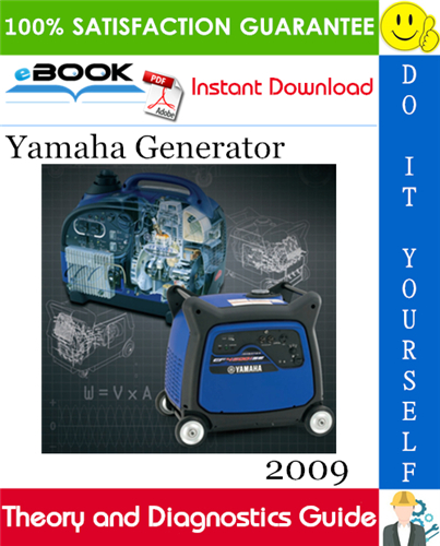 Thumbnail ☆☆ Best ☆☆ 2009 Yamaha Generator Theory and Diagnostics Guide
