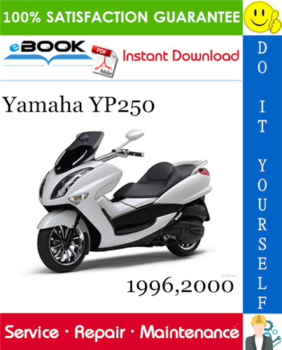 Thumbnail ☆☆ Best ☆☆ Yamaha YP250 Scooter Service Repair Manual 1996, 2000 Download