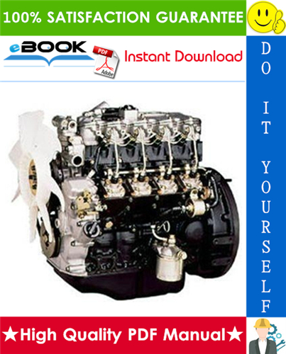 Thumbnail ☆☆ Best ☆☆ Isuzu Industrial Diesel Engine 4LB1, 4LC1, 4LE1 Model Service Repair Manual