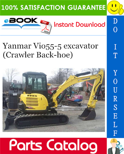 Thumbnail Yanmar Vio55-5 excavator (Crawler Back-hoe) Parts Catalog Manual (for U.S.A., Australia, New Zealand, Korea & Singapore)