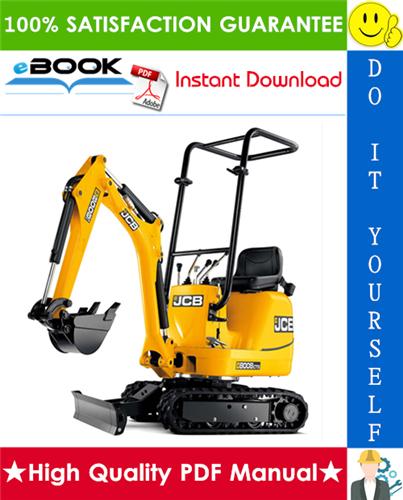 Thumbnail ☆☆ Best ☆☆ JCB Micro, Micro Plus, 8008, 8010 Excavator Service Repair Manual