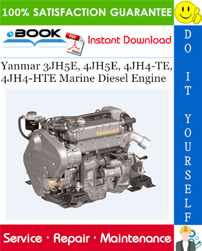 Download Yanmar Marine 3jh5e Service Manual  Yanmar Marine