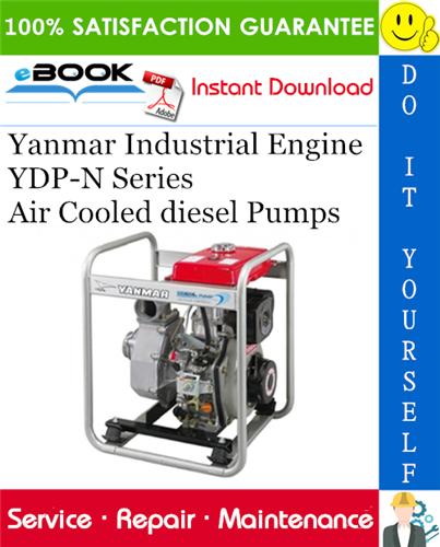 Thumbnail ☆☆ Best ☆☆ Yanmar Industrial Engine YDP-N Series (YDP20N YDP20TN YDP20DN YDPSTN YDP30N YDP30TN YDP30DN YDP30STN YDP40N YDP40TN YDP40TN-E YDP40STN YDP40STN-E) Air Cooled die
