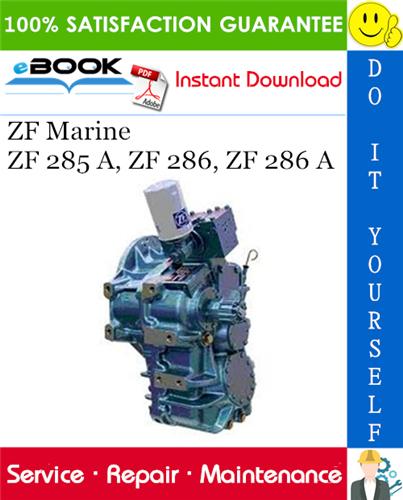 Download Zf Service Manual  Hyster  Repair  Workshop