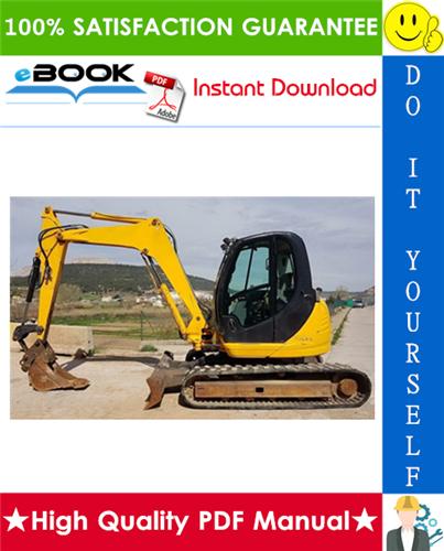 Thumbnail ☆☆ Best ☆☆ JCB 8080 Midi Excavator Service Repair Manual