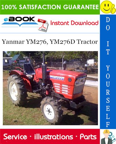 Thumbnail ☆☆ Best ☆☆ Yanmar YM276, YM276D Tractor Parts Manual
