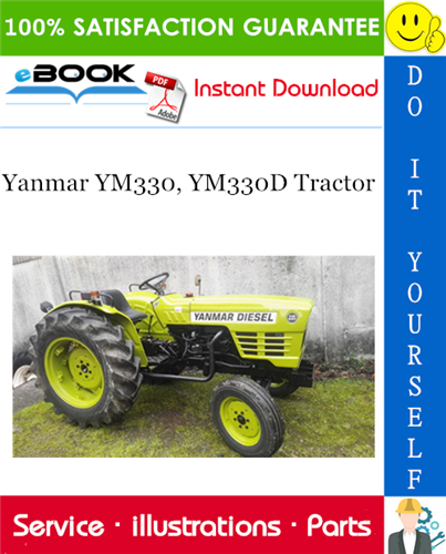 Thumbnail ☆☆ Best ☆☆ Yanmar YM330, YM330D Tractor Parts Manual