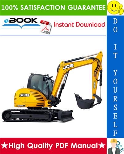 Thumbnail ☆☆ Best ☆☆ JCB 8085 Midi Excavator Service Repair Manual