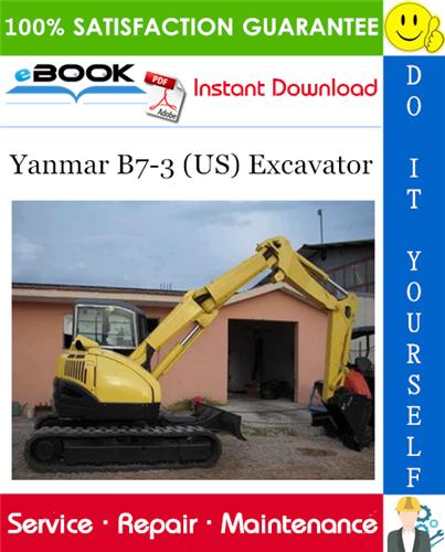 Thumbnail ☆☆ Best ☆☆ Yanmar B7-3 (US) Excavator Service Repair Manual