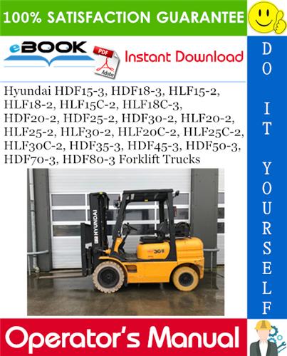 Thumbnail ☆☆ Best ☆☆ Hyundai HDF15-3, HDF18-3, HLF15-2, HLF18-2, HLF15C-2, HLF18C-3, HDF20-2, HDF25-2, HDF30-2, HLF20-2, HLF25-2, HLF30-2, HLF20C-2, HLF25C-2, HLF30C-2, HDF35-3, HDF4