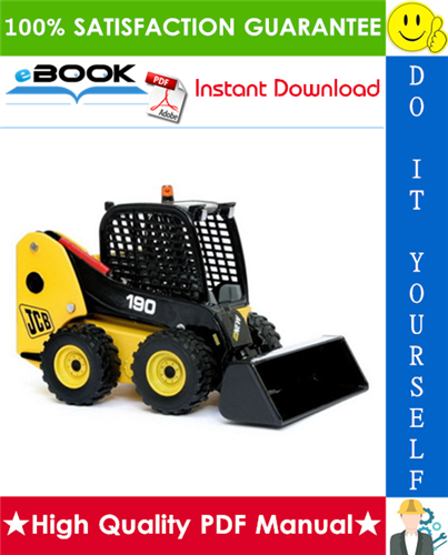Thumbnail ☆☆ Best ☆☆ JCB Robot 190, 1110 Skid Steer Loader Service Repair Manual