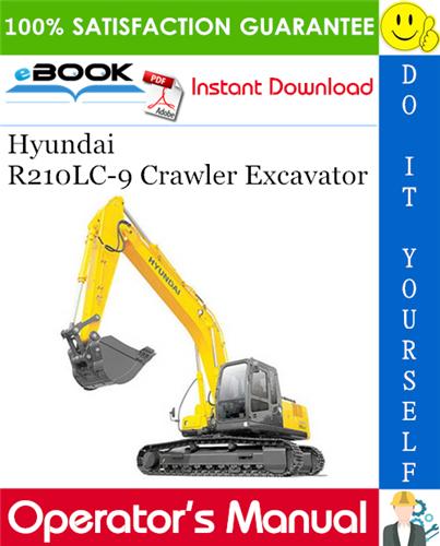 Thumbnail ☆☆ Best ☆☆ Hyundai R210LC-9 Crawler Excavator Operators Manual
