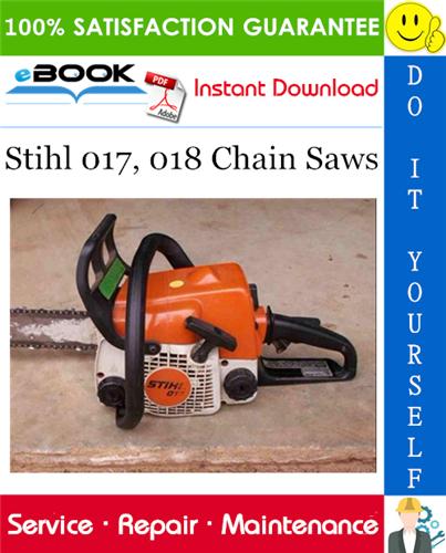 Thumbnail ☆☆ Best ☆☆ Stihl 017, 018 Chain Saws Service Repair Manual
